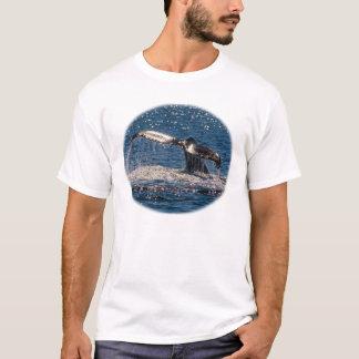 Humpback Whale Tail Fluke Off Surfers Paradise T-Shirt