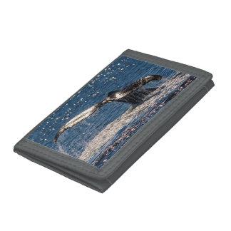 Humpback Whale Tail Fluke Surfers Paradise Trifold Wallet
