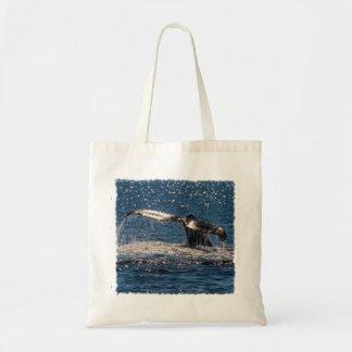 Humpback Whale - Tail Fluke Tote Bag