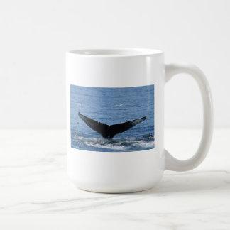 Humpback Whale tail flukes mug