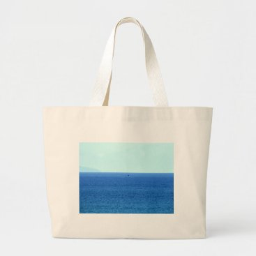 Beach Themed HUMPBACK WHALE TAIL QUEENSLAND AUSTRALIA LARGE TOTE BAG