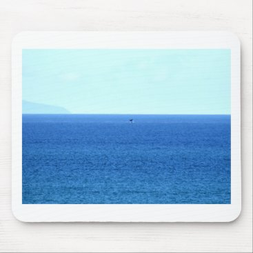 Beach Themed HUMPBACK WHALE TAIL QUEENSLAND AUSTRALIA MOUSE PAD