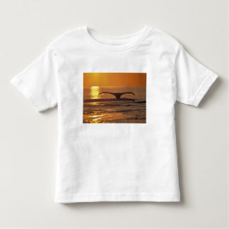 Humpback whale toddler t-shirt