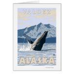 Humpback Whale - Valdez, Alaska Cards