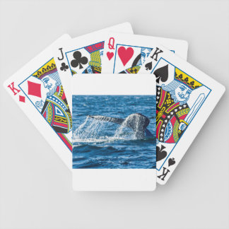 Humpback Whale Washington State Bicycle Playing Cards