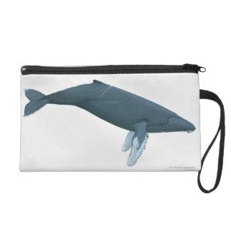 Humpback Whale Wristlet Purse