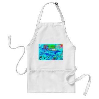 humpback whales apron standard apron