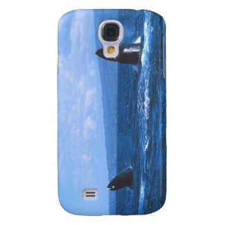 Humpback Whales Jumping Samsung Galaxy S4 Case