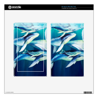 Humpback Whales Kindle Fire Decal