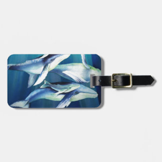 Humpback Whales Luggage Tag