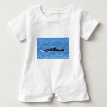 Beach Themed HUMPBACK WHALES MACKAY QUEENSLAND AUSTRALIA BABY ROMPER