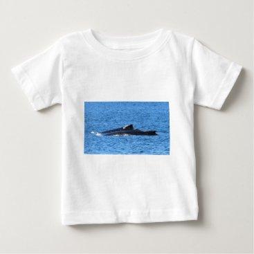 Beach Themed HUMPBACK WHALES MACKAY QUEENSLAND AUSTRALIA BABY T-Shirt