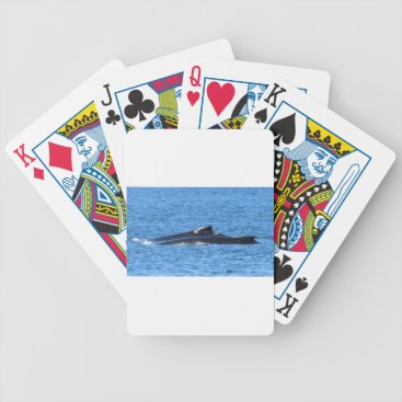 Beach Themed HUMPBACK WHALES MACKAY QUEENSLAND AUSTRALIA BICYCLE PLAYING CARDS