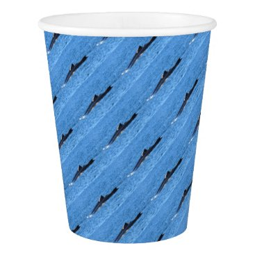Beach Themed HUMPBACK WHALES MACKAY QUEENSLAND AUSTRALIA PAPER CUP