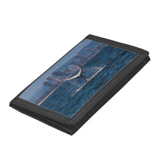 Humpback Whales Off Surfers Paradise Trifold Wallet