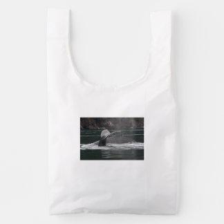 Humpback whales reusable bag