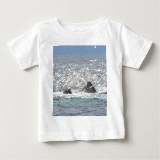 Humpback whales, seagulls in Seward, Alaska Shirt