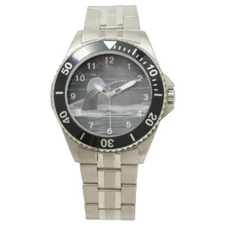Humpback whales wristwatches