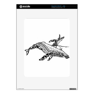 Humpback with baby skin for iPad