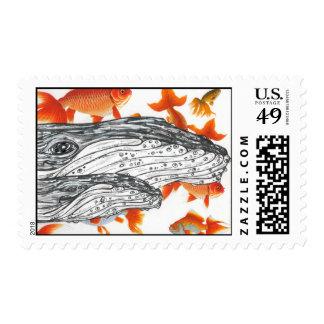 Humpbacks 02 postage