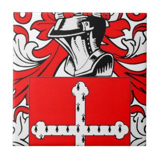 Humphrey Coat of Arms Ceramic Tile