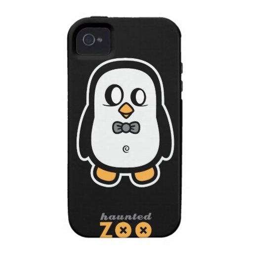 Humphrey el pingüino por el caso del iphone 4s del iPhone 4 carcasas