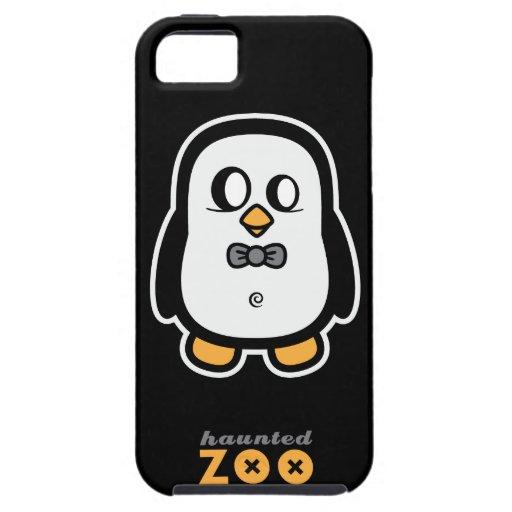 Humphrey el pingüino por el caso del iphone 5s del iPhone 5 Case-Mate cobertura
