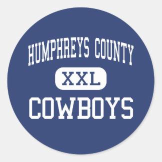Humphreys County - Cowboys - High - Belzoni Stickers