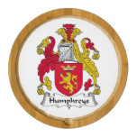 Humphreys Family Crest Round Cheeseboard