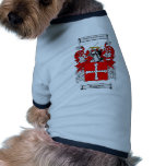 Humphrie Coat of Arms Dog Tee Shirt