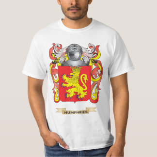 Humphries Coat of Arms (Family Crest) T Shirt