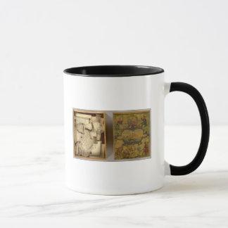 Humphries dissected world map mug