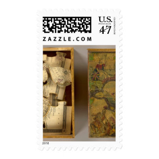 Humphries dissected world map postage