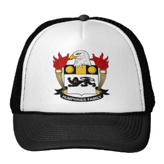 Humphries Family Crest Hat