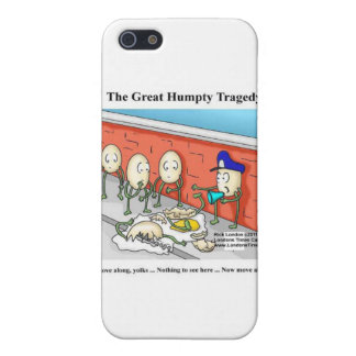 Humpty After The Fall Funny Cards & Gifts Case For iPhone SE/5/5s