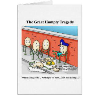 Humpty After The Fall Funny Tees Cards & Gifts