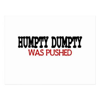 Humpty divertido Dumpty Tarjetas Postales