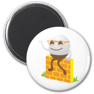 Humpty Dumpty 2 Inch Round Magnet