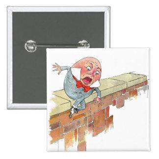 Humpty Dumpty 2 Inch Square Button