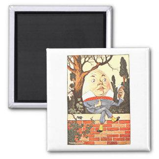 Humpty-Dumpty 2 Inch Square Magnet