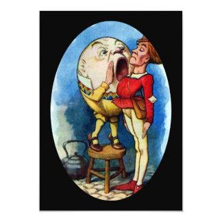 """Humpty Dumpty a todo color Invitación 5"""" X 7"""""""