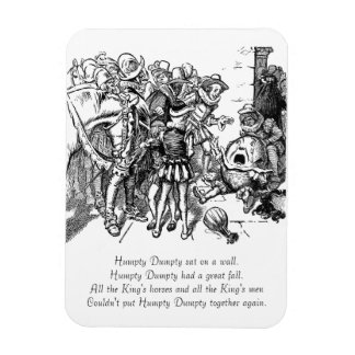 Humpty Dumpty After the Fall Rectangular Photo Magnet
