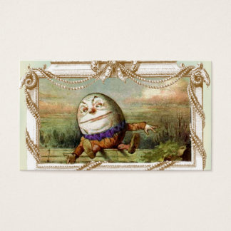 Humpty Dumpty and Alice Business Card