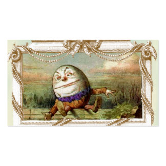 Humpty Dumpty and Alice Double-Sided Standard Business Cards (Pack Of 100)