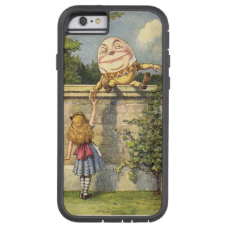 Humpty Dumpty and Alice Through the Looking Glass Tough Xtreme iPhone 6 Case