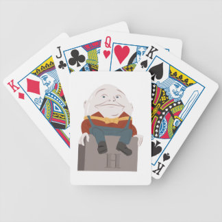 Humpty Dumpty Bicycle Playing Cards