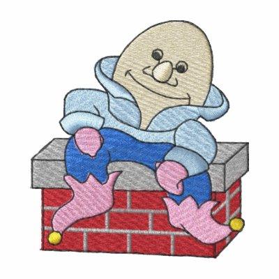 Humpty Dumpty Chaqueta Bordada De Entrenamiento