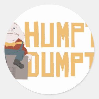 Humpty Dumpty Classic Round Sticker