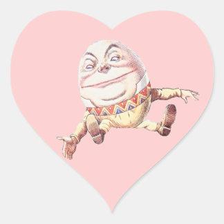 Humpty Dumpty Color Heart Sticker