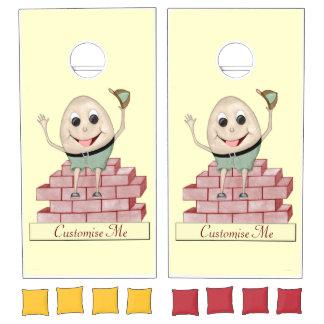 Humpty Dumpty Cornhole Set
